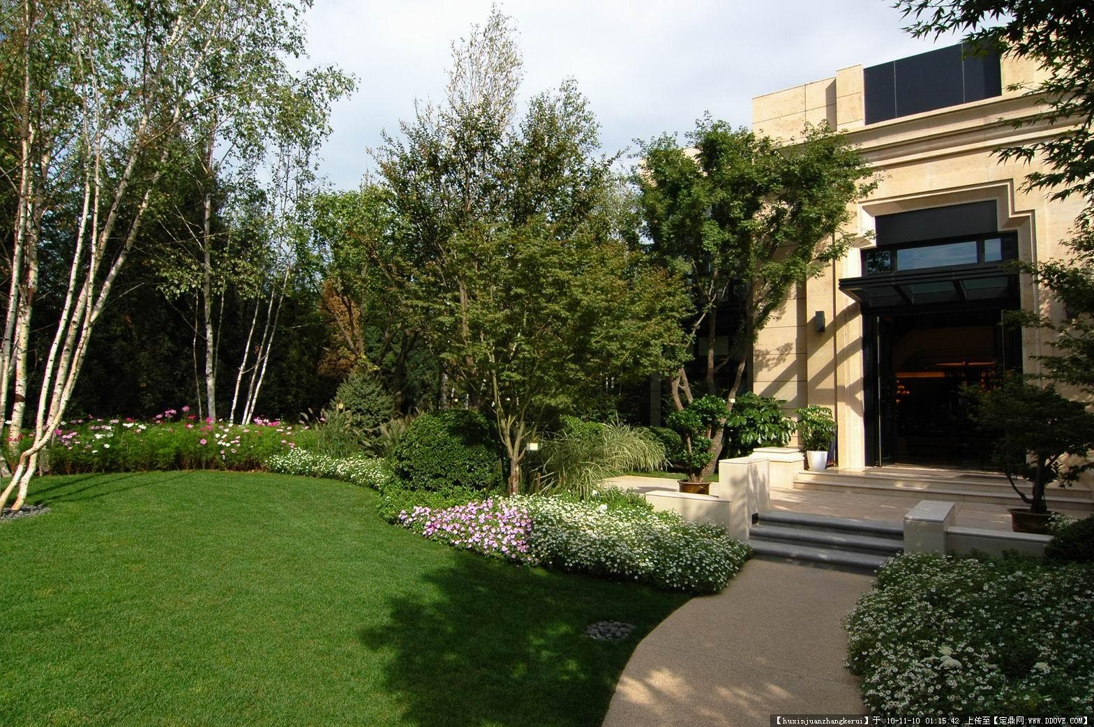 江西别墅庭院设计,南昌园林景观设计,别墅花园,庭院